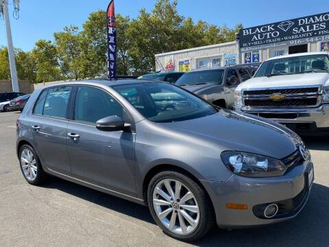 2012 Volkswagen Golf for sale at Black Diamond Auto Sales Inc. in Rancho Cordova CA