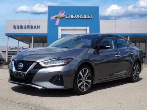 2020 Nissan Maxima for sale at Suburban Chevrolet of Ann Arbor in Ann Arbor MI