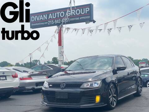 2013 Volkswagen Jetta for sale at Divan Auto Group in Feasterville Trevose PA
