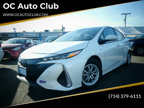 2017 Toyota Prius Prime for sale at OC Auto Club in Midway City CA
