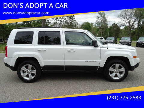 2012 Jeep Patriot for sale at DON'S ADOPT A CAR in Cadillac MI