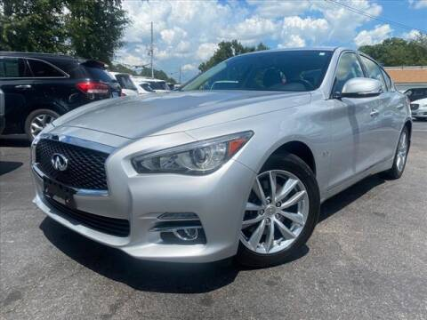 2016 Infiniti Q50 for sale at iDeal Auto in Raleigh NC