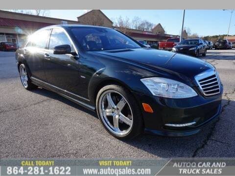 2012 Mercedes-Benz S-Class for sale at Auto Q Car and Truck Sales in Mauldin SC
