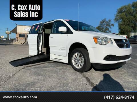 2016 Dodge Grand Caravan for sale at C. Cox Auto Sales Inc in Joplin MO