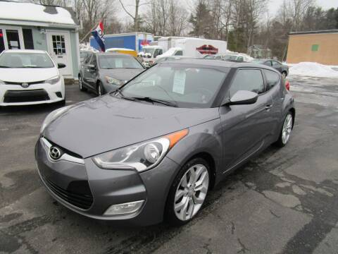 2013 Hyundai Veloster for sale at Route 12 Auto Sales in Leominster MA
