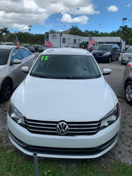 2015 Volkswagen Passat for sale at Roadmaster Auto Sales in Pompano Beach FL