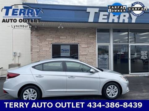 2019 Hyundai Elantra for sale at Terry Auto Outlet in Lynchburg VA