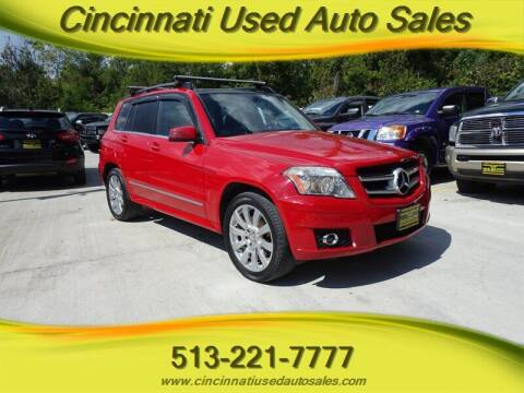 2011 Mercedes-Benz GLK for sale at Cincinnati Used Auto Sales in Cincinnati OH
