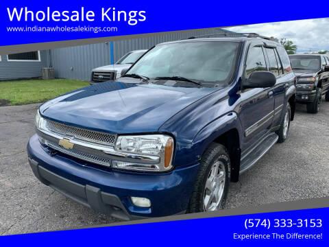 2002 Chevrolet TrailBlazer for sale at Wholesale Kings in Elkhart IN