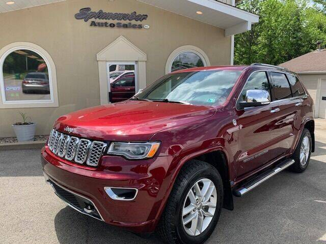 2017 Jeep Grand Cherokee for sale at SPINNEWEBER AUTO SALES INC in Butler PA