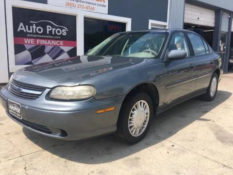 2003 Chevrolet Malibu for sale at AutoPros - Waterloo in Waterloo IA