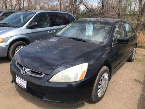2004 Honda Accord for sale at BARNES AUTO SALES in Mandan ND