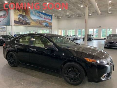 2012 Acura TSX for sale at Godspeed Motors in Charlotte NC