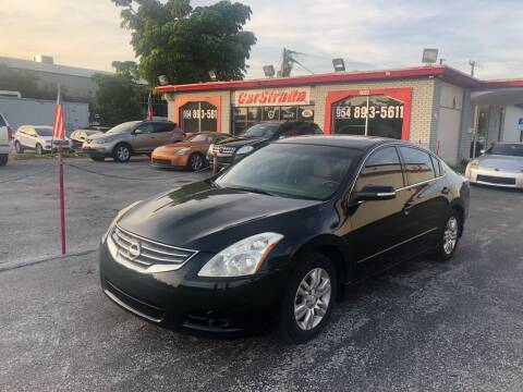 2012 Nissan Altima for sale at CARSTRADA in Hollywood FL