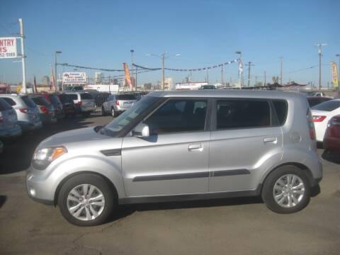 2010 Kia Soul for sale at Town and Country Motors - 1702 East Van Buren Street in Phoenix AZ