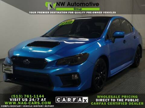 2018 Subaru WRX for sale at NW Automotive Group in Cincinnati OH