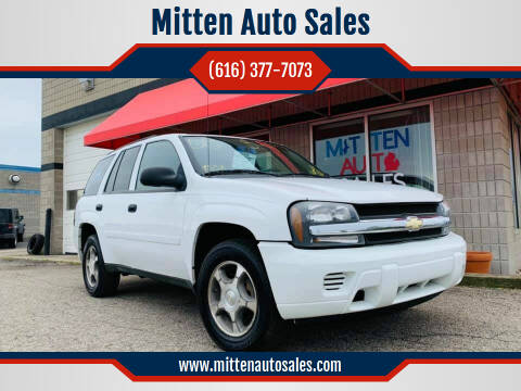 2008 Chevrolet TrailBlazer for sale at Mitten Auto Sales in Holland MI