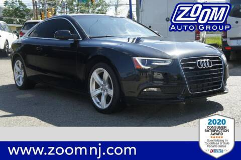 2014 Audi A5 for sale at Zoom Auto Group in Parsippany NJ
