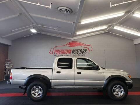 2003 Toyota Tacoma for sale at Premium Motors in Villa Park IL