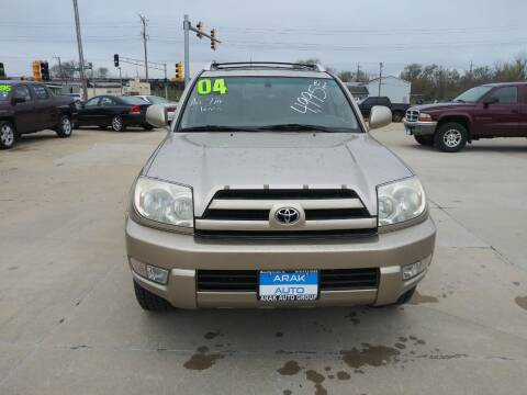 2004 Toyota 4Runner for sale at Arak Auto Group in Bourbonnais IL