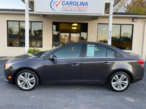 2014 Chevrolet Cruze for sale at Carolina Auto Credit in Youngsville NC