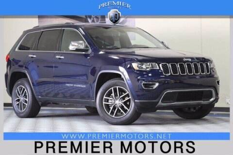 2018 Jeep Grand Cherokee for sale at Premier Motors in Hayward CA