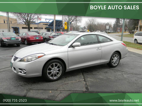 2008 Toyota Camry Solara for sale at Boyle Auto Sales in Appleton WI