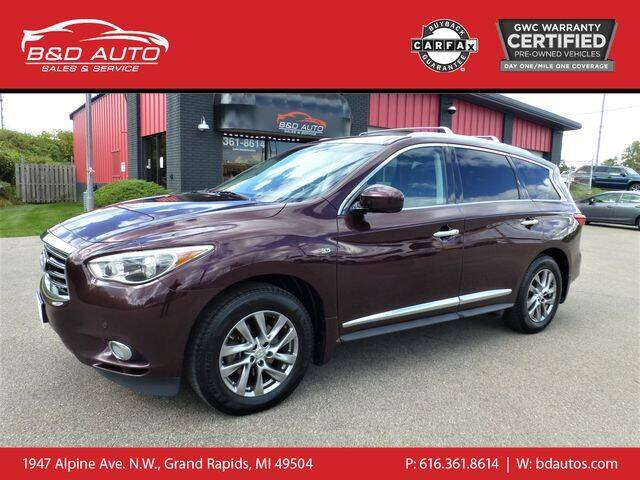 2015 Infiniti QX60 for sale at B&D Auto Sales Inc in Grand Rapids MI