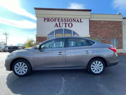 2016 Nissan Sentra for sale at Professional Auto Sales & Service in Fort Wayne IN