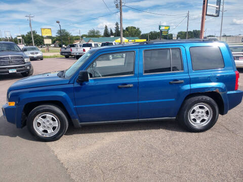2009 Jeep Patriot for sale at Salmon Automotive Inc. in Tracy MN