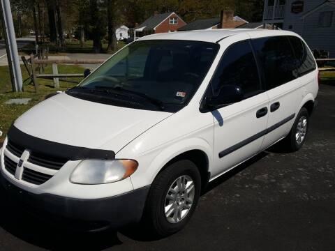 2007 Dodge Caravan for sale at Premier Auto Sales Inc. in Newport News VA