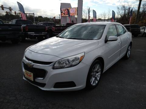 2015 Chevrolet Malibu for sale at P J McCafferty Inc in Langhorne PA