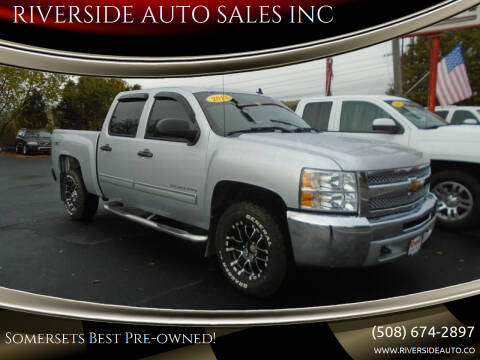 2013 Chevrolet Silverado 1500 for sale at RIVERSIDE AUTO SALES INC in Somerset MA