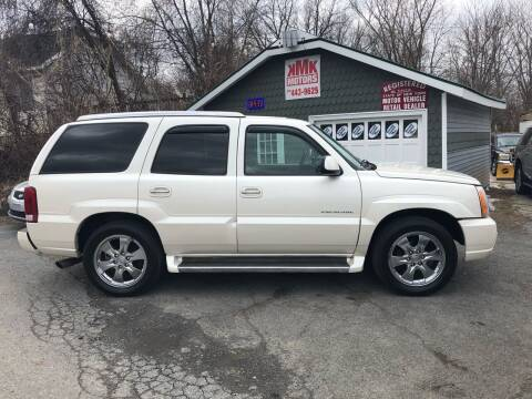 2006 Cadillac Escalade for sale at KMK Motors in Latham NY