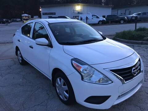 2017 Nissan Versa for sale at Elite Motor Brokers in Austell GA