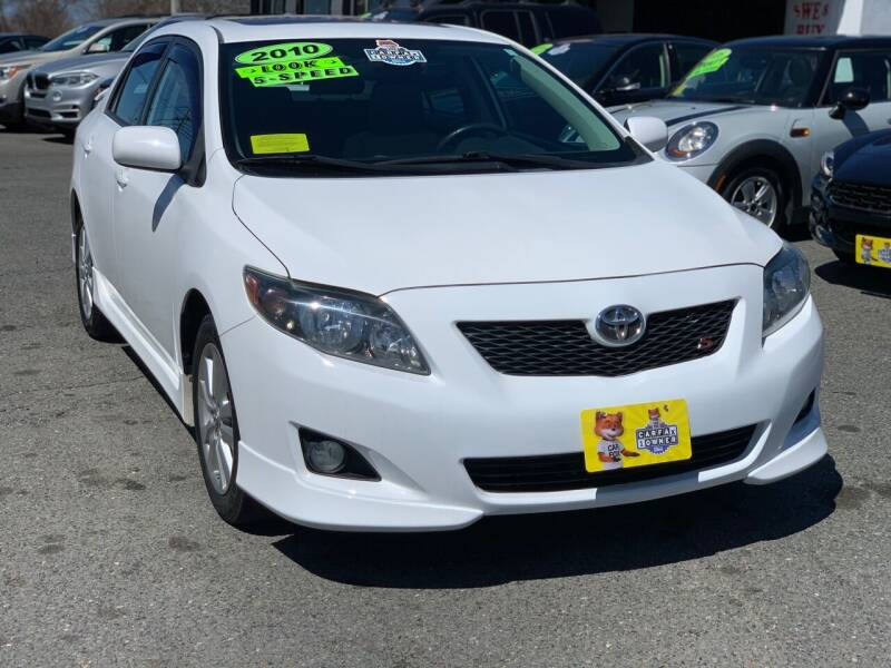 2010 Toyota Corolla for sale at Milford Auto Mall in Milford MA