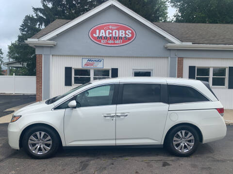 2016 Honda Odyssey for sale at Jacobs Motors LLC in Bellefontaine OH