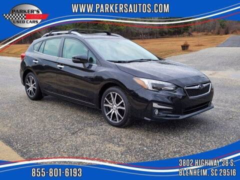 2019 Subaru Impreza for sale at Parker's Used Cars in Blenheim SC