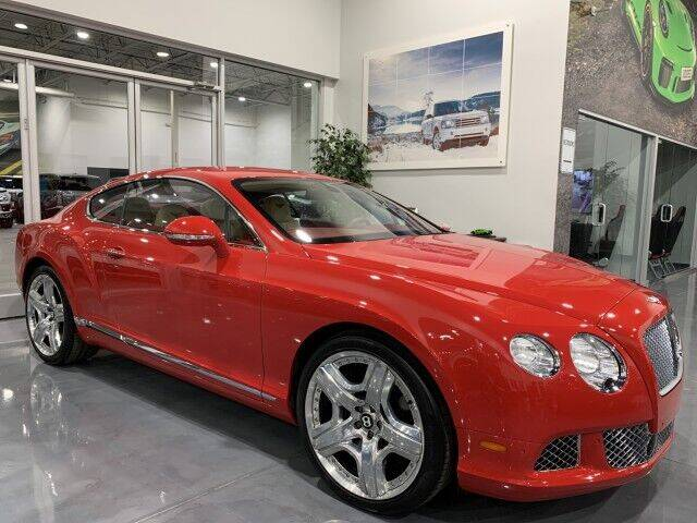2012 Bentley Continental for sale at Godspeed Motors in Charlotte NC