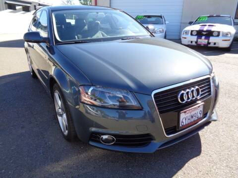 2013 Audi A3 for sale at NorCal Auto Mart in Vacaville CA