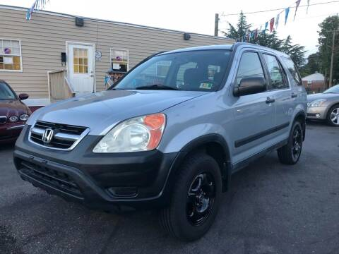 2002 Honda CR-V for sale at Crestwood Auto Center in Richmond VA