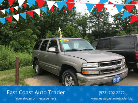 2001 Chevrolet Tahoe for sale at East Coast Auto Trader in Wantage NJ
