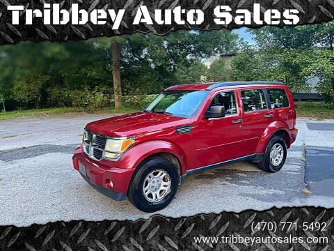 2011 Dodge Nitro for sale at Tribbey Auto Sales in Stockbridge GA