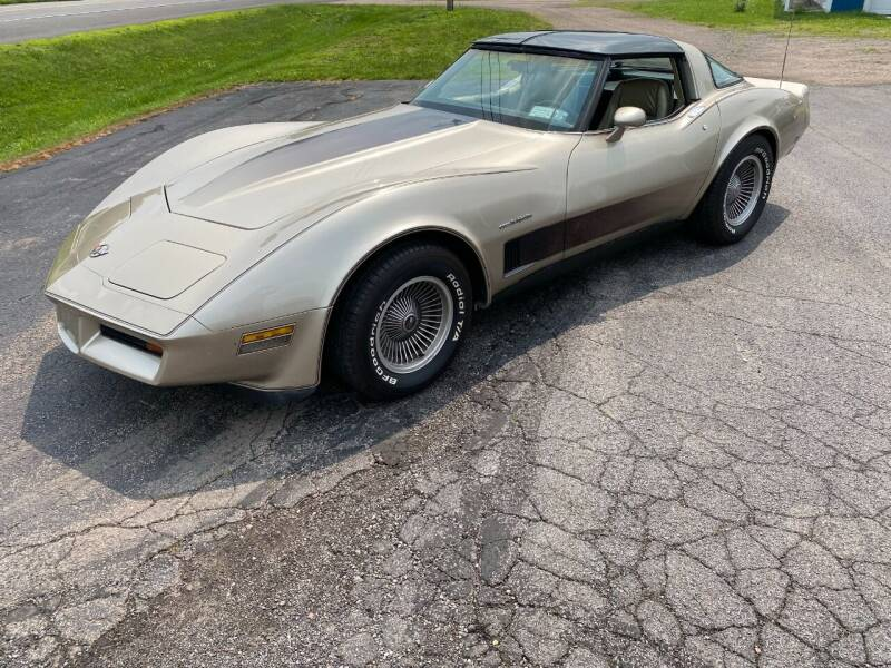 1982 Chevrolet Corvette for sale at AB Classics in Malone NY