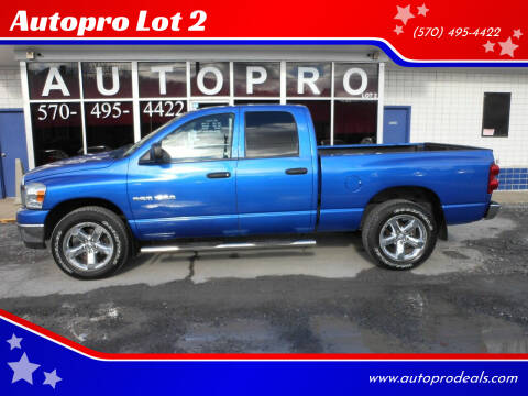 2007 Dodge Ram Pickup 1500 for sale at Autopro Lot 2 in Sunbury PA