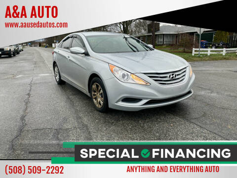 2012 Hyundai Sonata for sale at A&A AUTO in Fairhaven MA