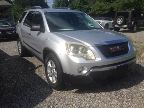 2009 GMC Acadia for sale at Venable & Son Auto Sales in Walnut Cove NC
