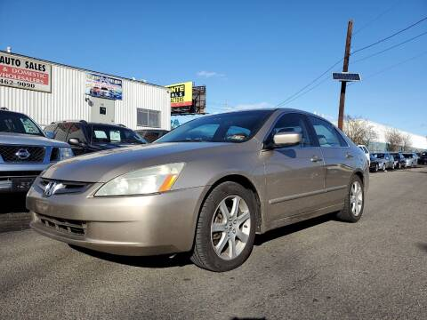 2005 Honda Accord for sale at MENNE AUTO SALES in Hasbrouck Heights NJ