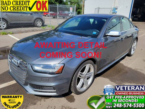 2013 Audi S4 for sale at North Oakland Motors in Waterford MI