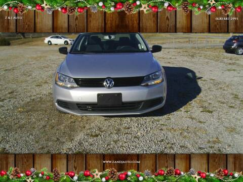 2014 Volkswagen Jetta for sale at Z & J Auto in Murphysboro IL